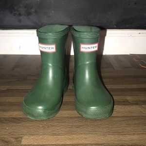 Toddler Hunter boots 💚